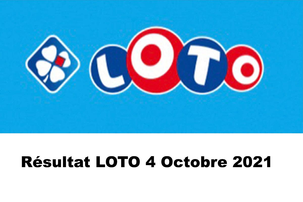 Resultat LOTO 4 Octobre 2021 codes loto gagnant et joker+